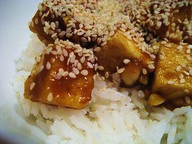 Tofu w sezamie