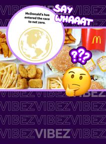 """McDonald's chce być """"net zero"""". Eksperci: tego nie da się łatwo zrobić"""