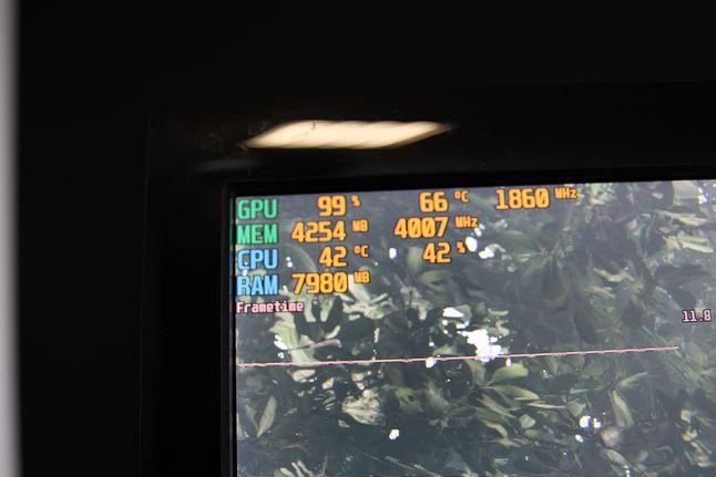 Temperatura w Shadow of the Tomb Raider rzadko przekraczała 50°C.