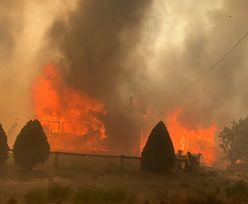 Rekordowe upały w Kanadzie. Uciekali przed pożarem