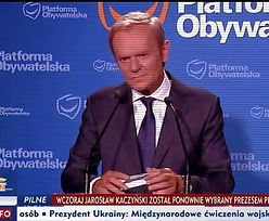 Zadał pytanie Tuskowi i został zmiażdżony. Widzowie TVP tego jednak nie zobaczyli
