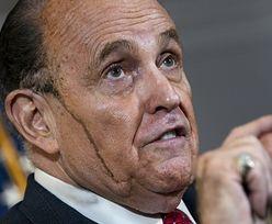 Konferencja prawnika Trumpa. Mało kto skupiał się na tym, co mówi Rudy Giuliani