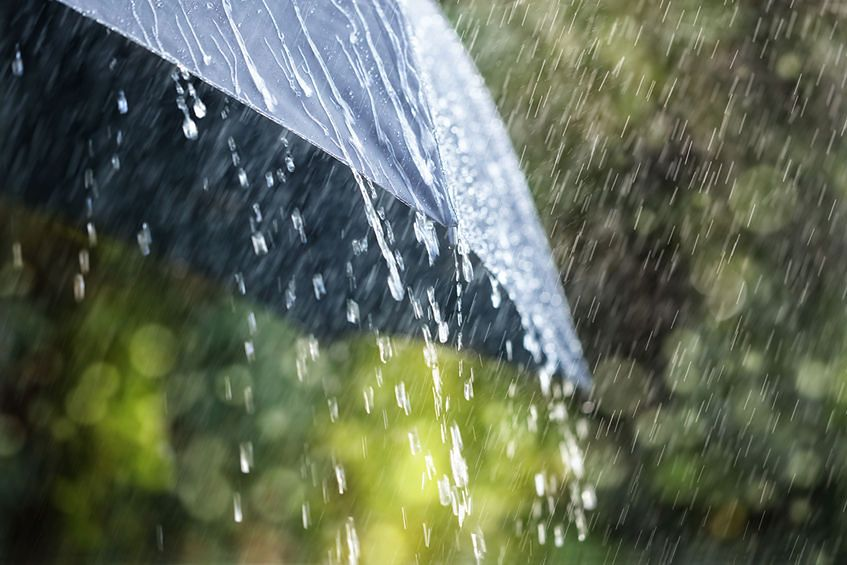 Triki jak wysuszyć pranie, gdy na dworze leje i jest wilgoć [123rf]