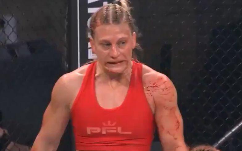 """""""Krwawa masakra"""". Sceny jak z horroru podczas walki kobiet w MMA"""