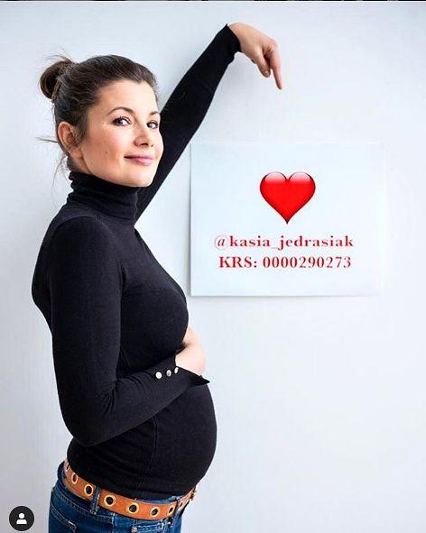 Agnieszka Sienkiewicz w ciąży [instagram.com]