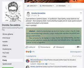 Polki piją w ciąży? Post Doroty Zawadzkiej poruszył internautki