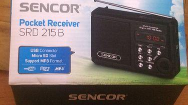Czy kieszonkowe radio może być funkcjonalne? — recenzja Sencor SRD215