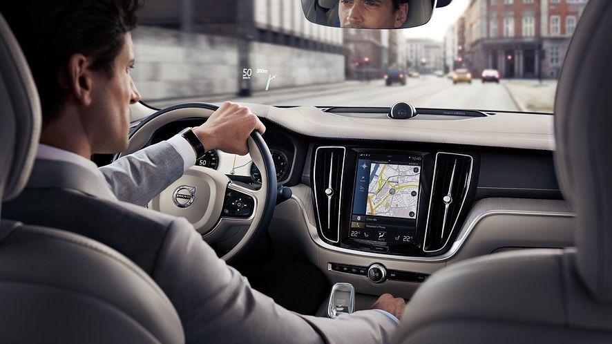 Waze będzie wyświetlać więcej danych dzięki Volvo, fot. materiały prasowe Volvo