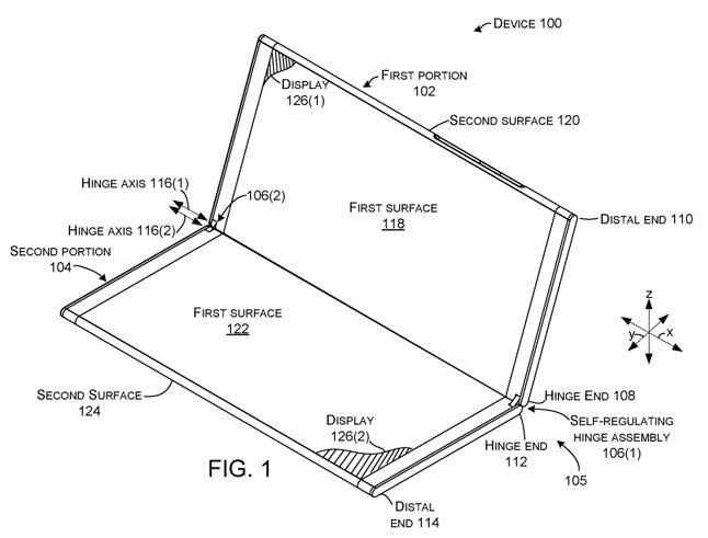 Surface Phone z dwoma ekranami? źródło: arstechnica.com