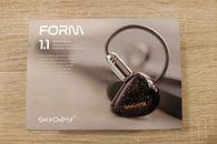 Shozy Form 1.1 - słuchawki z berylowym przetwornikiem