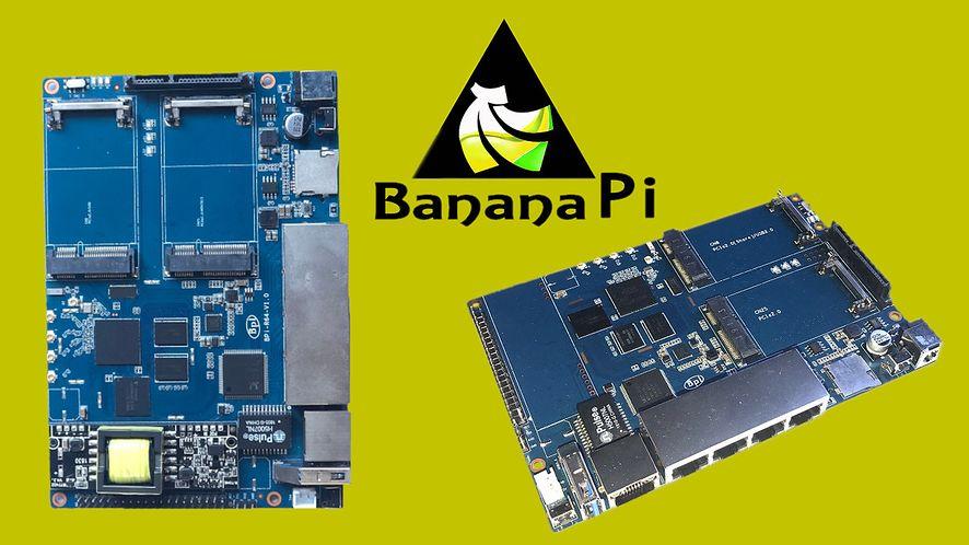 Banana Pi BPI-R64 dedykowany do funkcji routera