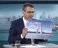 """Planują """"wykiwać"""" władze Warszawy i zbudować łuk triumfalny w rzece"""