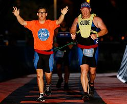 Niesamowity wyczyn! Niepełnosprawny sportowiec ukończył Ironmana