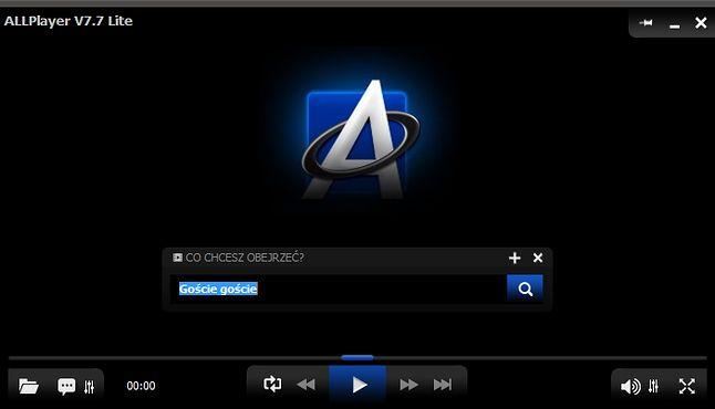 Wyszukiwarka dostępna jest już na ekranie odtwarzania.