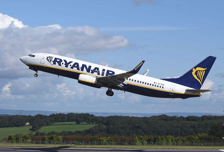 Pasażerów ogarnął strach. Śmierć na pokładzie Ryanaira