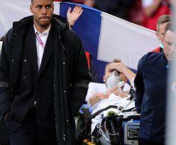 """Euro 2020. Pierwsze słowa Christiana Eriksena. Lekarz: """"Był martwy"""""""