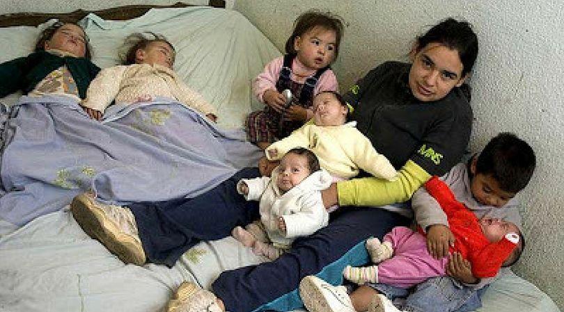 Dwa lata po pierwszym synku, Pameli urodziły się trojaczki