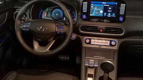 Hyundai Kona Electric: System zarządzania energią oraz audio Krell