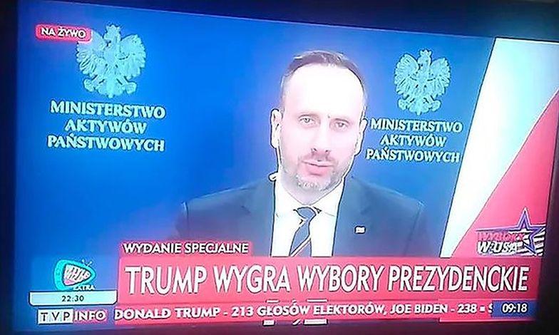 """Wybory w USA. TVP """"zna"""" już wyniki"""