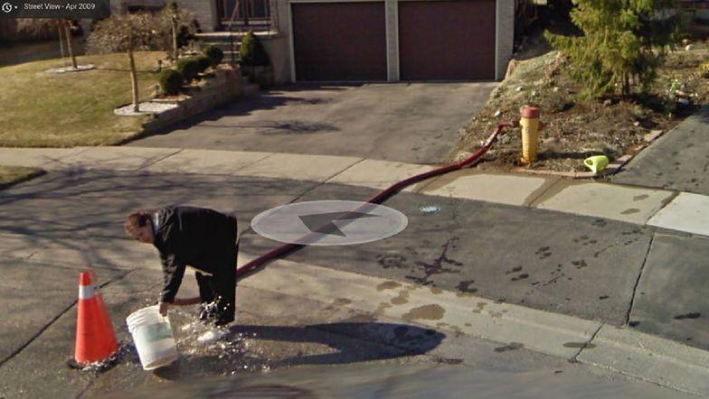 Google Street View. Przeglądali okolice. Nie mogli uwierzyć własnym oczom