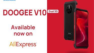 DOOGEE V10 5G trafia do sprzedaży za jedyne 199,99$