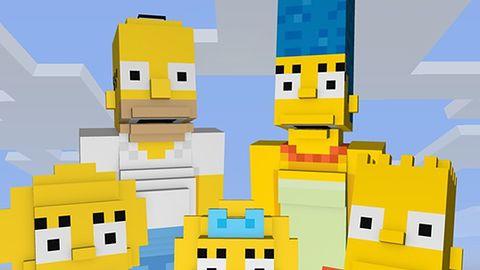 Rodzina Simpsonów pojawi się w Minecrafcie