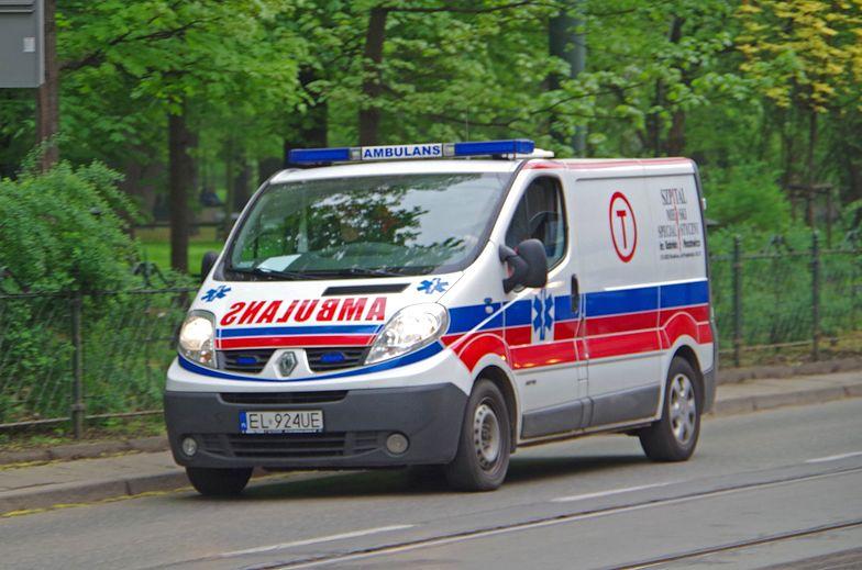 Wypadek w Kocku. 7 osób w szpitalu. DK48 zablokowana
