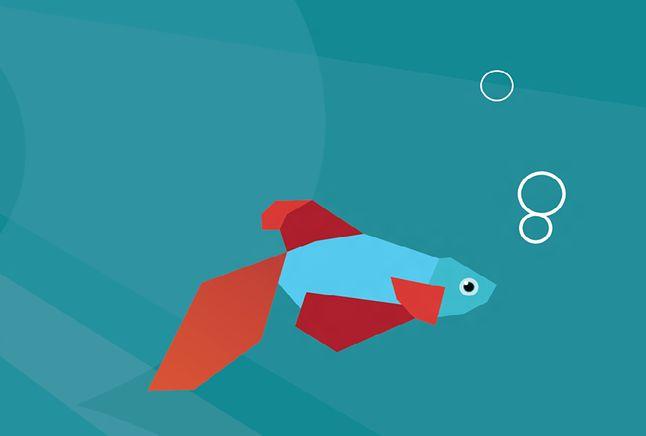 Windows 8 Consumer Preview - charakterystyczną cechą tej wersji była rybka :)