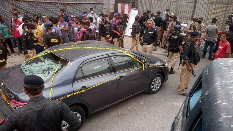 Pakistan. Atak na giełdę w Karaczi. Są ofiary śmiertelne