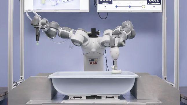 Robot Picker podczas sortowania przedmiotów