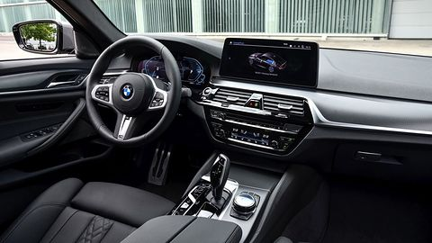 Pierwsza jazda BMW 545e: nowy napęd i funkcje Connectivity z nową aplikacją my BMW