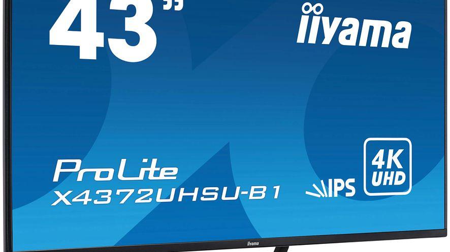 iiyama ProLite X4372UHSU-B1, fot. materiały prasowe.