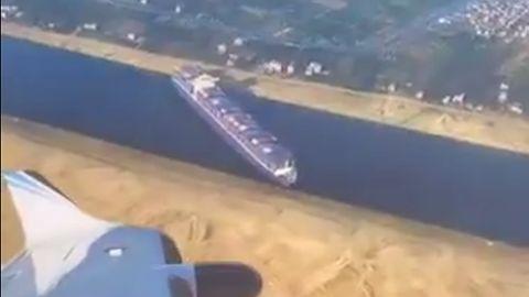 Statek Ever Given utknął w Microsoft Flight Simulator. Wszystko za sprawą moda