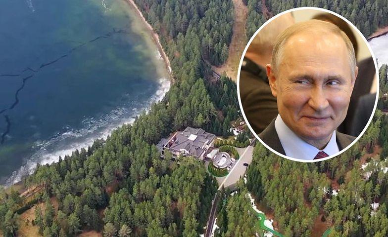 Kolejny pałac Putina. Jest tam nawet kościół. Ludzie Nawalnego ujawniają