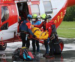 Seria wypadków w Tartach. Ratownicy TOPR apelują o ostrożność