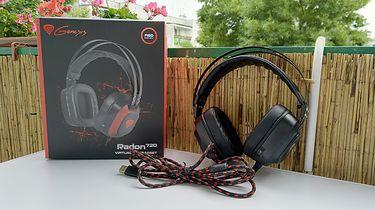 Genesis Radon 720 — stylowe słuchawki dla graczy obsługujące standard 7.1