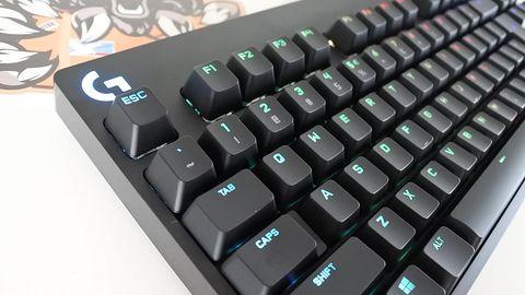 LOGITECH G — recenzja klawiatury TKL serii PRO (GX BLUE)