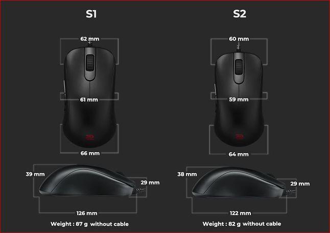 BenQ przedstawia nowe myszki dla graczy, fot. materiały prasowe.