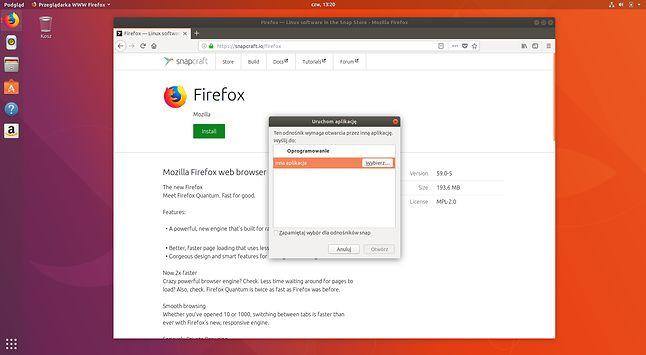 Firefox nie umie zainstalować Firefoksa jednym kliknięciem – to po co ten zielony przycisk?