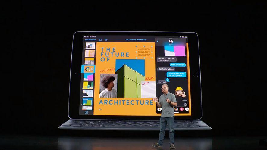 iPad 7 – nieco większy, zaprojektowany dla systemu iPad OS