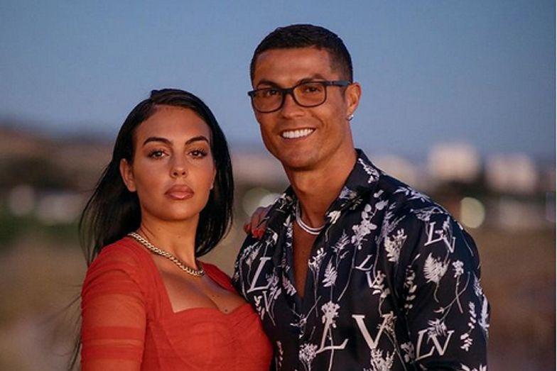 Georgina Rodriguez i Cristiano Ronaldo w prywatnym samolocie. Widok robi wrażenie!