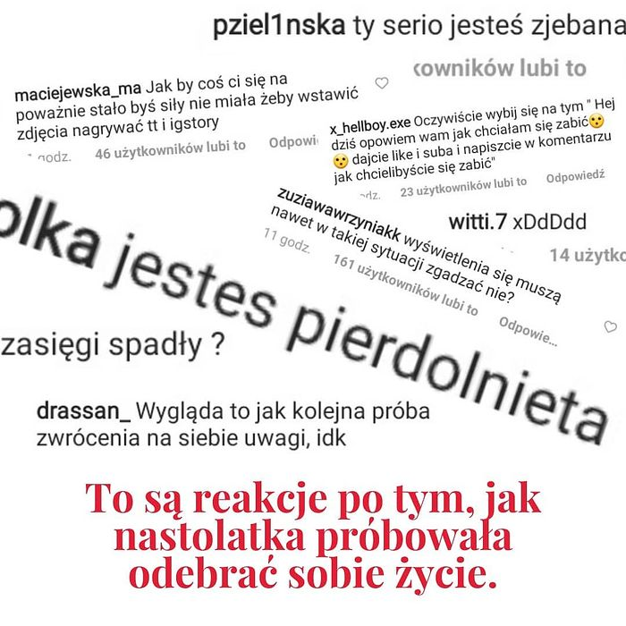 Maja Staśko o próbie samobójczej Queen of the Black