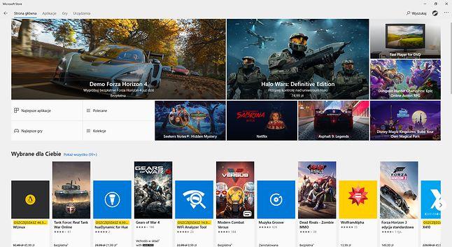 Oferta Microsoft Store jest stale rozszerzana.