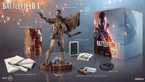 Kolekcjonerka Battlefield 1 będzie miała wszystko. Oprócz samej gry