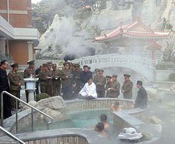 Korea Północna. Kim Dzong Un w luksusowym spa