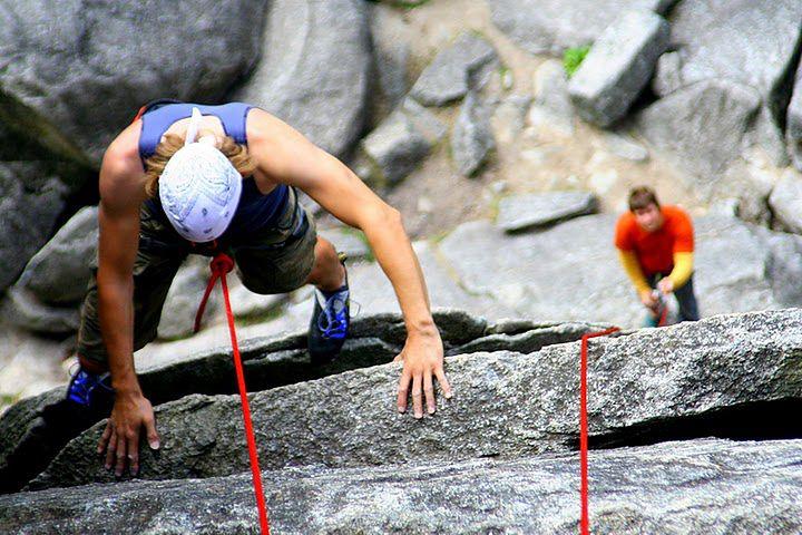 Wspinaczka skałkowa - odpowiednie miejsce