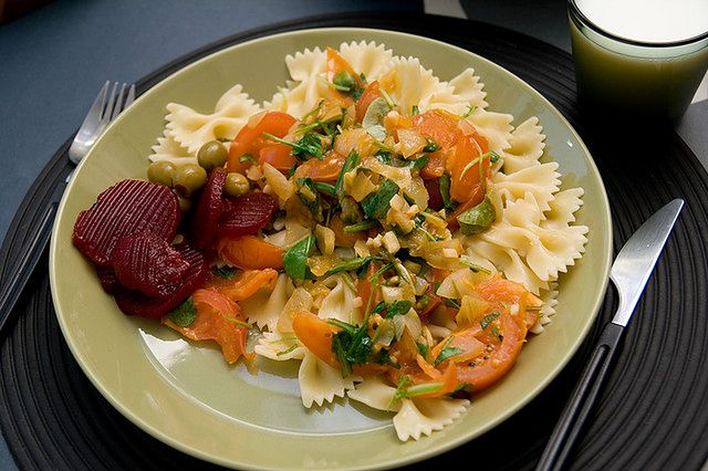 Zdrowa porcja makaronu