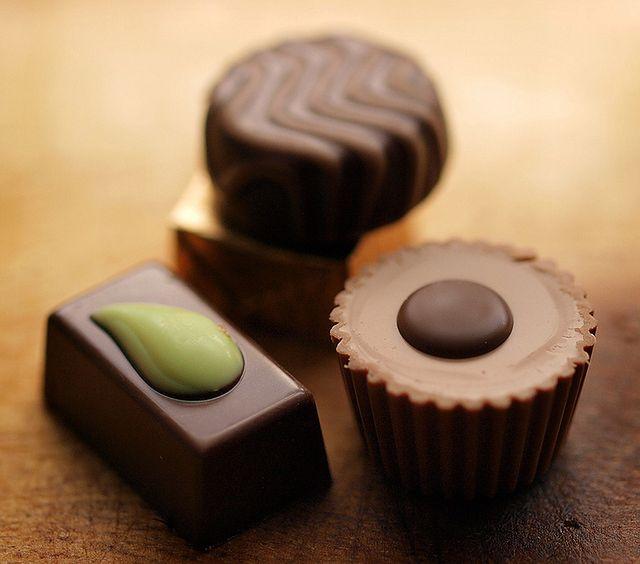 Unikam czekolady, bo wywołuje wypryski
