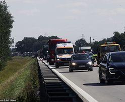 Ruda Śląska: wypadek na A4. Korek ma już 5 km