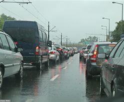 Wypadek w Krakowie. Zderzenie 3 aut. Potężny korek na A4